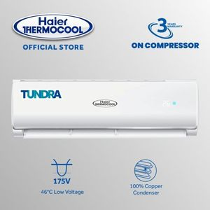 Haier Thermocool 1.5HP Air Conditioner + Intallation Kit