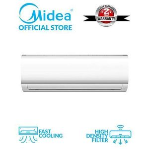 Midea 1.5HP Air Conditioner With Big Copper Engine & FREE  Installation KIT