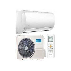 Midea 1 Horse Power Air Conditioner With Installation Kit + Wall Hanger - Copper Coil