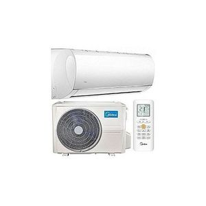 Midea 1 HP Comfort Series Copper Air Conditioner MSAF-09CR + Installation Kit
