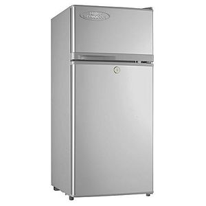 Haier Thermocool 95 LITERS DOUBLE DOORS REFRIGERATOR HRF95EX (silver)