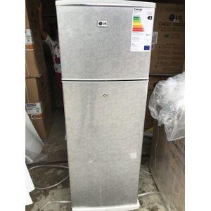 LG 225L Silver White Fast Freezing Top Freezer Refrigerator