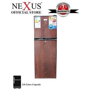 Nexus DOUBLE DOOR FRIDGE NX 170 WOODEN DESIGN