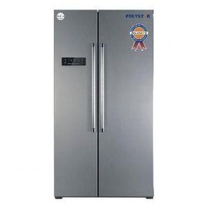 Polystar Side By Side Refrigerator PV-SBS645L - Silver LAGOS ONLY