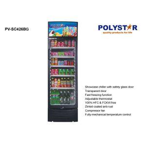Polystar Showcase Chiller Single Door With Steps Display Light PV-SC426BG