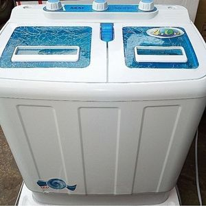 AKAI Twin Tub Mini Washing Machine - WM013A-38TT - 3.8kg