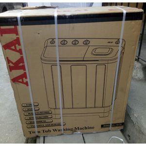 AKAI 7.5kg Twin Tub Washing Machine