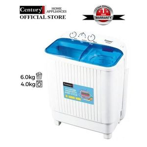 Century 7.8kg Single Tub Washing Machine With Overload Protection