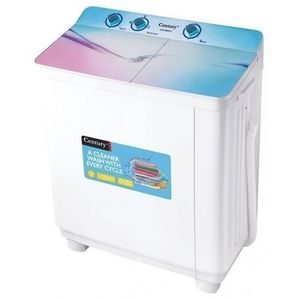 Century 6KG Twin Tub Washing Machine - CW8522-B (6KG Wash And 4KG Spin)