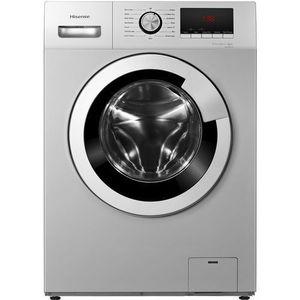 Hisense 8kg Front Load Washing Machine, Smart Control, Silver