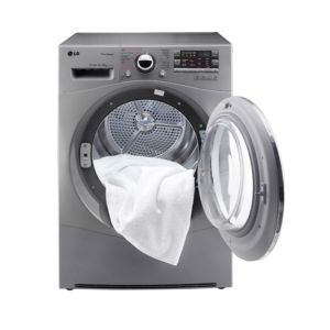 LG 8KG / 5KG Front Load Washing Machine And Dryer = 4J6TMP0W