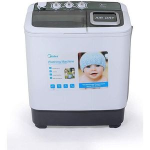 Midea Large Twin Tub Washing Machine - Wash & Spin