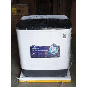 Midea MTE60-P1302S 6kg Twin Tub Loading Washing Machine