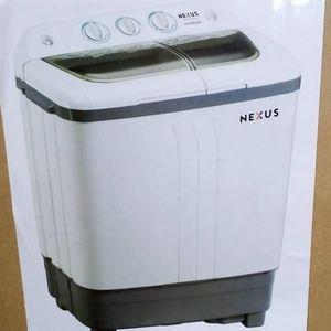 Nexus 7KG Washing Machine Semi-Auto Twin-Tub - (Wash/Spin/Drain)