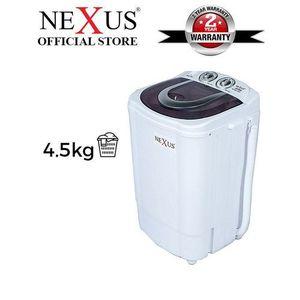 Nexus 4.5kg Single Tub Washing Machine (NX-WM-4SASR)
