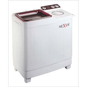 Nexus 9.2kg Semi Automatic Washing Machine CV- NX-WM-9SASB - Red
