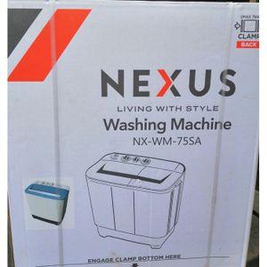 Nexus 7.5kg Twin Tub Washing Machine