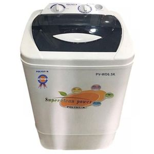 Polystar Twin Tub Washing Machine PV-WD7K - White