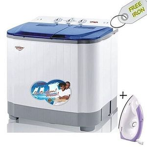 Qasa The New Generation Qlink Washing Machine - 8.8kg - Washing Capacity - 5.0kg - Spinning Capacity - 3.8kg