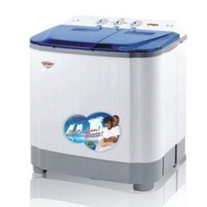Qasa 8.8kg Double Tub Semi-Automatic Washing Machine (5kg Wash, 3.8kg Spin)