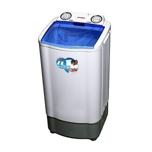 Qasa 8.8kg Double Tub Washing Machine + Free Iron (Wash& Spin)