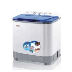 Qasa Portable Washing Machine - 5.5 KG - Multicolour