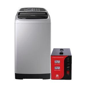 Samsung 7.5kg Top Loading Washing Machine + Stabilizer