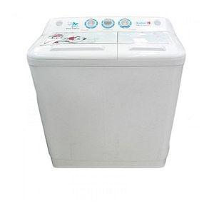 Scanfrost  Twin Tub Semi-Automatic Washing Machine 6.5kg - White