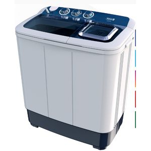 Scanfrost Large Twin Tub Semi-Automatic Washing Machine(wash And Spin)