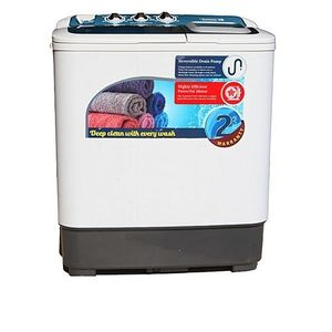 Scanfrost Large Semi Automatic Twin Tub Washing Machine - White