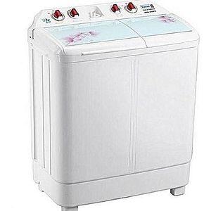 Scanfrost Washing Machine -SFSATTD6 8kg Twin Tub Semi-Automatic