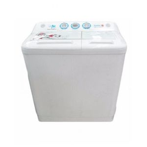 Scanfrost SFWM TTA 8KG Twin Tub Semi-Automatic Washing Machine - White