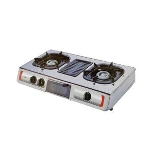 AKAI Multi-Functional AKAI Gas(STOVE)Cooker-Cooker+Grill-2Burners