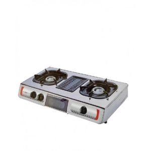 AKAI 2 Hob Table Top Gas Cooker With Grill