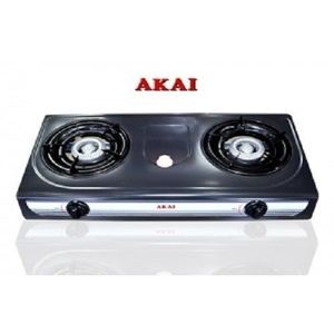AKAI 2 Burner Gas Stove With Grill