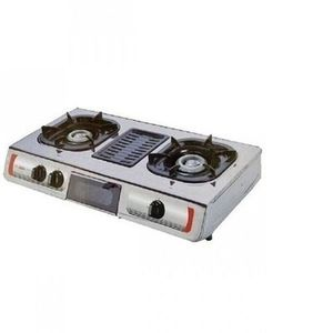 AKAI Table Top Gas Auto Ignition Cooker With Grill