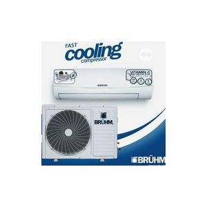 Bruhm SPLIT Air Condition 1HP With Installation Kit