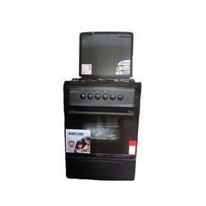Bruhm Gas Cooker BGC-6640G2 50*55cm, 3 Gas, 1 Electric- Silver