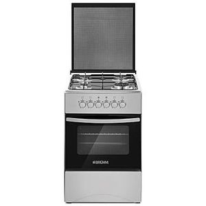 Bruhm 50*50 And 3gas +1electric Gas Cooker  With Grill Oven