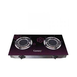 Century Table Glass Top  Gas Cooker-2 Burner - Auto Ignition