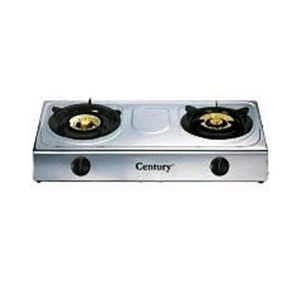 Century Automatic Stainless Steal Gas Cooker 2burner