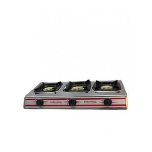 Eurosonic Gas Cooker With 2 Burners- Black