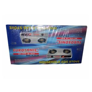 Eurosonic GLASS TOP GAS COOKER -2 BURNER