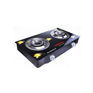 Eurosonic Glass Table Top 2 Burner Gas Cooker Stove