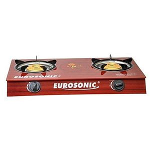 Eurosonic Table Top Gas Cooker With 2 Burners