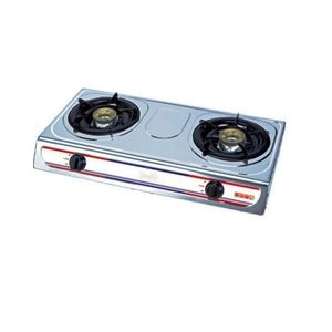 Eurosonic 2 Hob Tempered Glass Table Top Gas Cooker