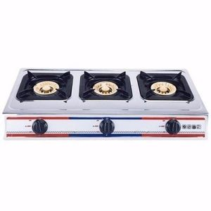 Eurosonic 3 Burner Stainless Gas Cooker