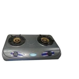 Haier Thermocool 2 Burner ThermocoolStainless Steel Table Gas Cooker - Silver
