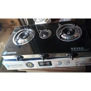 Haier Thermocool Thermocool 2 Burners Glass Top Gas Cooker