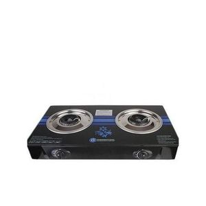 Haier Thermocool Non-stick Double Burners Table Top Gas Cooker